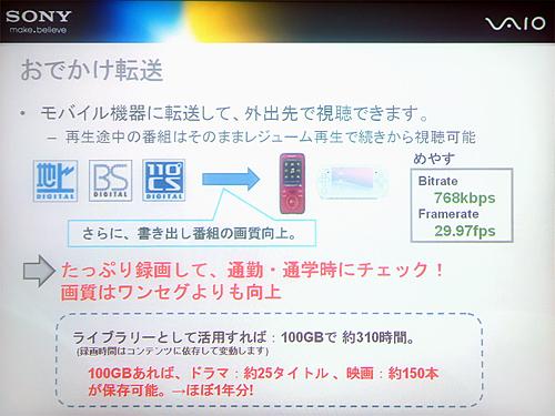 Giga Pocket Digital[活用]おでかけ転送