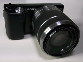 NEX-5D ソニーMCプロテクター装着