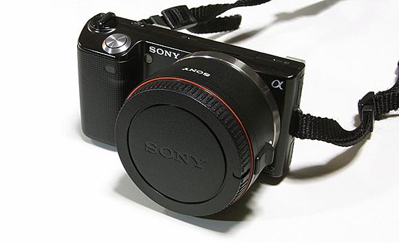 ソニー マウントアダプター LA-EA1:NEX-5