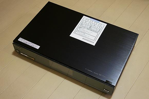 本体:ソニー ブルーレイディスクレコーダーBDZ-AX2000