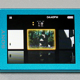 ウォークマン Sシリーズ NW-S644K:フィルムロール