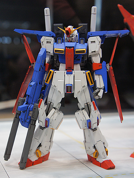 1/144 MSZ-010 ZZガンダム(R.C.BERG & studio RECKLESS)