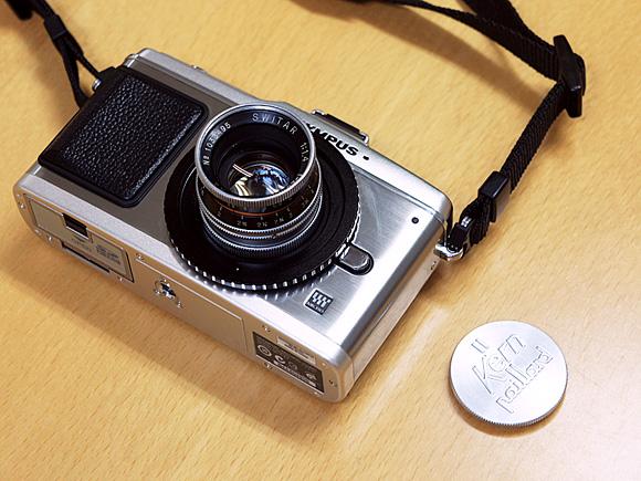 オリンパス PEN E-P2 & Kern Switar 25mm F1.4