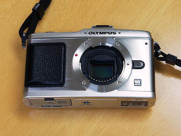オリンパス PEN E-P2 イメージセンサー