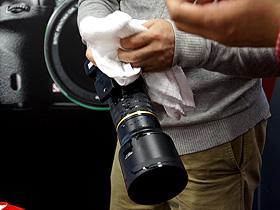 防塵防滴:ペンタックスデジタル一眼レフカメラ「K-5」体験イベント
