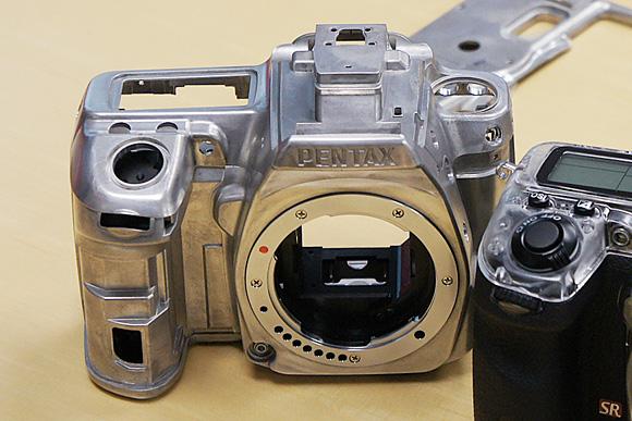 マグネシウムボディ:ペンタックスデジタル一眼レフカメラ「K-5」体験イベント