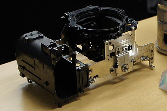 内部フレーム:ペンタックスデジタル一眼レフカメラ「K-5」体験イベント