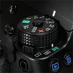 モードダイヤル:ペンタックスデジタル一眼レフカメラ「K-5」体験イベント