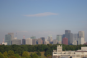 屋上から見えた風景:ペンタックスデジタル一眼レフカメラ「K-5」体験イベント