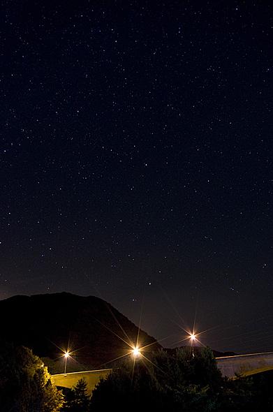 星空:ペンタックスデジタル一眼レフカメラ「K-5」