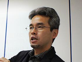 パケットビデオDLNAソフト「Twonky」体験イベント:パケットビデオ・ジャパン代表取締役社長高木和典さん