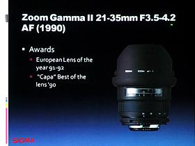 ZoomGammaII 21-35mm F3.5-4.2 AF (1990)