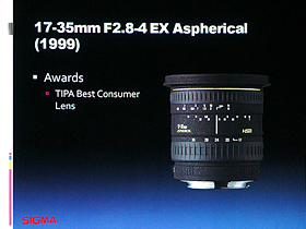 17-35mm F2.8-4 EX Aspherical(1999)
