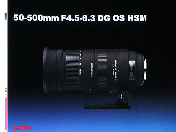 50-500mm F4.5-6.3 DG OS HSM