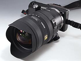 NEX-5+LA-EA1+SIGMA 8-16mm F4.5-5.6 DC HSM