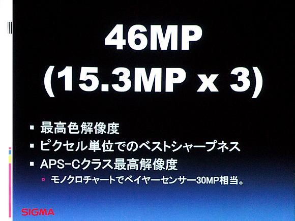 SD1に搭載される「Foveon X3」