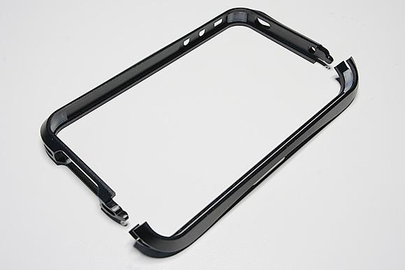CLEAVE ALUMINIUM BUMPER for iPhone4(メテオブラック)