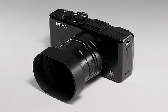 SIGMA DP2x & フードアダプター HA-21