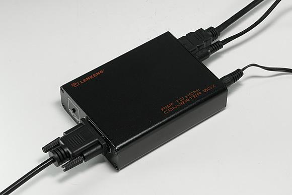 PSP用アップコンバータ「PSP to HDMI Converter Box [MG1000]」