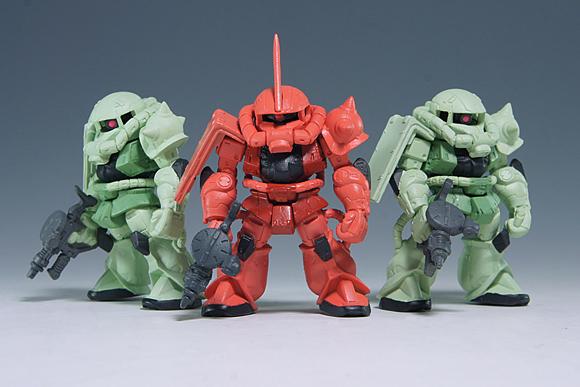 GUNDAM CONVERGE(ガンダム コンバージ)シャア専用ザク