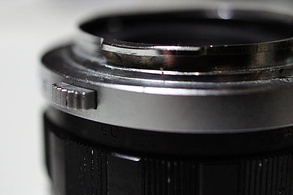 ペンF用レンズ F.Zuiko Auto-S f1.8 38mm