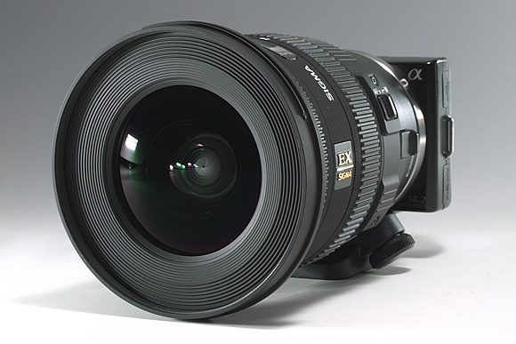 「NEX-5」+「マウントアダプターLA-EA1」+「SIGMA 10-20mm F3.5 EX DC HSM」