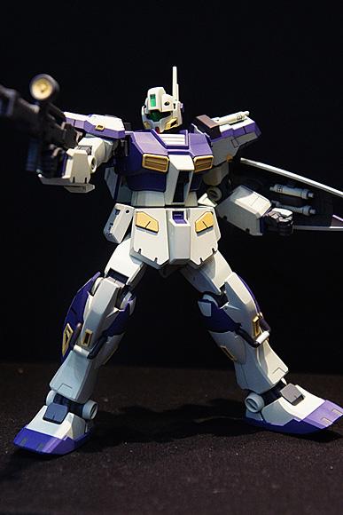 RGM-79C ジム改[ワグテイル](松本尚文)1/144