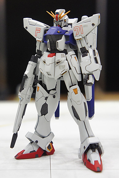 1/144 ガンダムF91(R.C.BERG & studio RECKLESS)