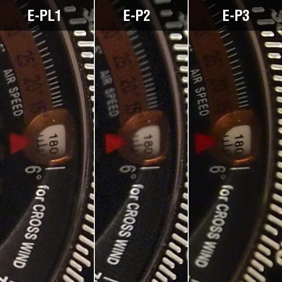 、E-PL1、E-P2、E-P3比較