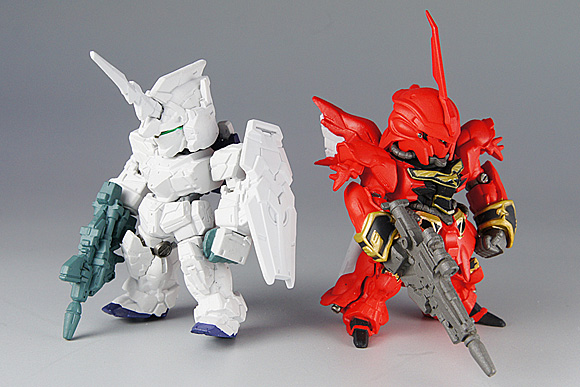 GUNDAM CONVERGE(ガンダム コンバージ)4 ユニコーン&シナンジュ