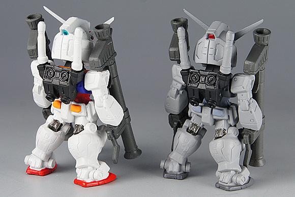 GUNDAM CONVERGE(ガンダム コンバージ)4 RX-78-2ガンダム:ダブルバズーカ装備&RX-78-3 G-3ガンダム:ダブルバズーカ装備(シークレット)