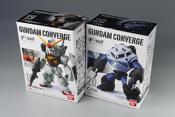 FW GUNDAM CONVERGE SELECTION νガンダム&サザビー特別セット