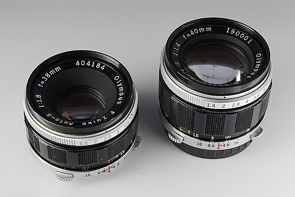 G.Zuiko Auto-S 40mm F1.4