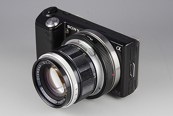 NEX-5 + G.Zuiko Auto-S 40mm F1.4