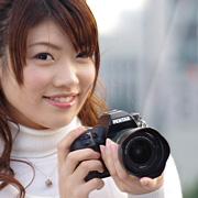 ペンタックスデジタル一眼レフカメラ「K-5」体験イベント:更木なるみ